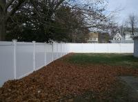 6' six foot vinyl privacy fencing