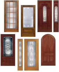 Entry door panels