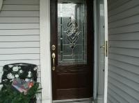 single fiberglass entry door systems