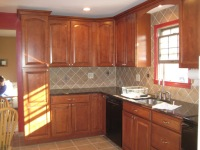 New Custom tile kitchen remodeling